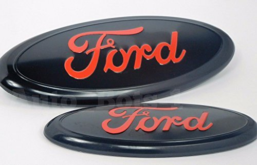2 pcs Set 2005-2014 Ford F150 Black Oval Set 9 inch, used for sale  Delivered anywhere in Canada