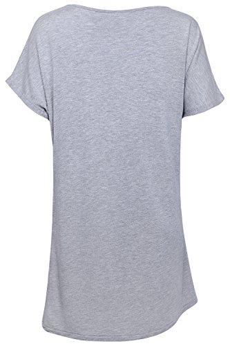 Damen Weites Yoga Fitness Training T-Shirt von Ethical Activewear Designer Sundried® Locker Baggy Ultra Weich Luxus