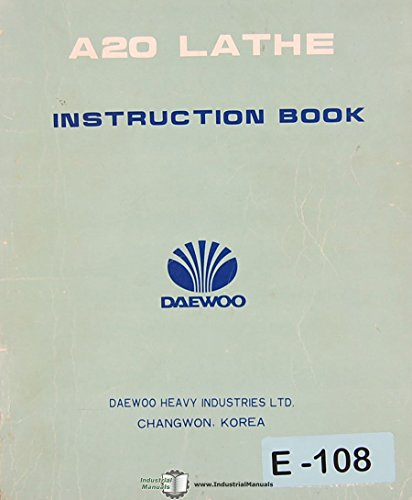 daewoo-a20-lathe-operations-miantenance-and-electrical-manual