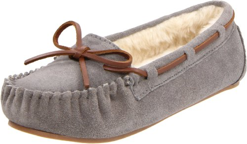 Tamarac by Slippers International Women's Molly Slipper,Grey,8 M US