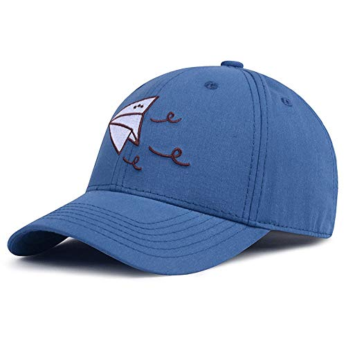 CattleBie Hat Female Male Outdoor Travel Mandatory Baseball Cap Korean Version Harajuku Embroidery Paper Plane Letter Cap Fashion Street Duck Tongue Cap Youth Leisure Fishing Sunscreen Shade Cap