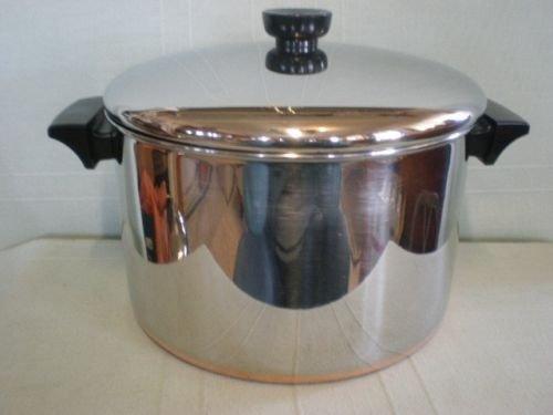 Revere Ware Copper Clad 6 Quart Stockpot