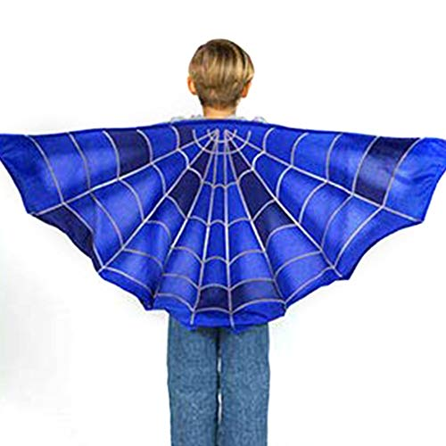 Warmmie Kids Dreamy Wings Costume for Boys and Girls Fancy Dress up Pretend Play Party Favor (Spider) -