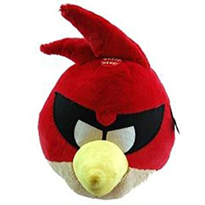Angry Birds Plush 12-Inch Birds with Sound: Red, Super Red, Lazer Bird