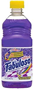 Fabuloso Multi Purpose Cleaner, Lavender, 15 Ounce (Pack of 5)