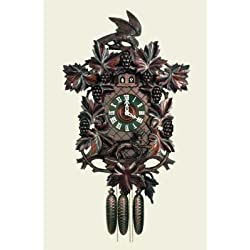 Original Eight Day Movement Special Musical Cuckoo Clock with 2 Songs 27 Inch