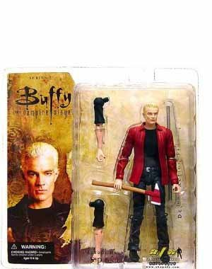 Buffy the Vampire Slayer SCHOOL HARD SPIKE Exclusive Action Figure by Diamond (Best Buffy Spike Episodes)