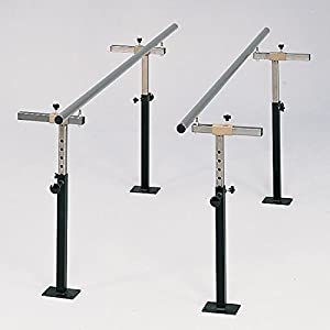 10' Floor Mounted Parallel Bars, used for Physical Therapy CL 3 4010