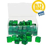 Board Game Pieces Storage Containers, Organizes Meeples, Dice, Tokens, Cards to Fit Inside The Board Game Box, Includes 15 BitsBins Mini's That Measure 2.125' X 1.625' X 0.825'