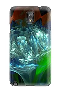 Cheap Tough Galaxy Case Cover/ Case For Galaxy Note 3(fractal)