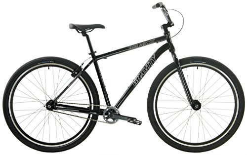 Gravity Single Speed Cruiser 29er Adult BMX Bike (Gloss Black, 15.5 inch = 5'5 to 5'10) Review