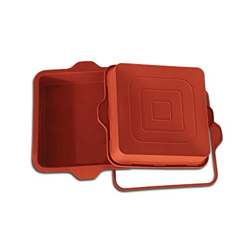 TableTop King Flexible Bakeware Square Pan 78 Oz, 9'' x 9'' x 2'' High