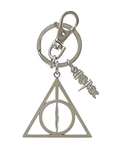 Harry Potter Deathly Hallows Pewter Key Ring (Harry Potter And The Deathly Hallows Epub Tuebl)