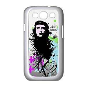 Case For Samsung Galaxy S3, abstract che guevara Case For Samsung Galaxy S3, White