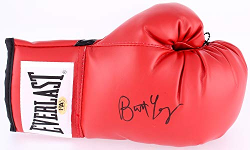 (BURT YOUNG SIGNED EVERLAST BOXING GLOVE PAULIE PENNINO IN ROCKY MOVIES MAB HOLO)