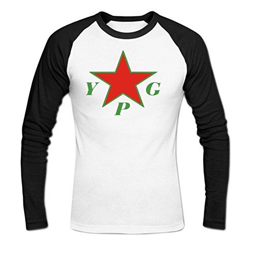 okbanana-mens-ypg-casual-baseball-t-shirt-m-white