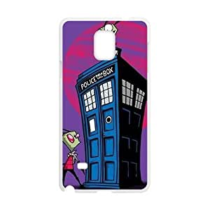 Mysterious doctor unique house and Peanuts Cell Phone Case for Samsung Galaxy Note4