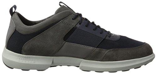 Geox Herre U Traccia B Sneaker Blau (Flåde / Antracit) eQP2KVi35