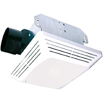 Air king aslc70 advantage exhaust bath fan with 70 cfm and - Air king bathroom fan light combo ...