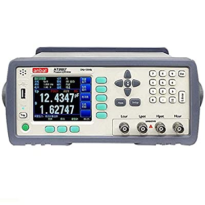 AT3817A TFT-LCD Display Precision Digital LCR Meter With 10Hz-100kHz Frequency