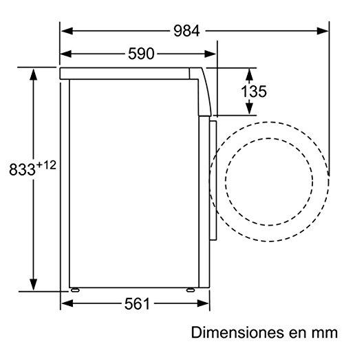 Balay 3TS853 - Lavadora De Carga Frontal 3Ts853 De 5.5 Kg Y 1.000 ...