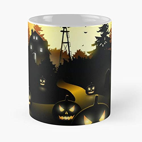 Halloween Costumer For Women Couples Costumes Movies - 11 Oz Coffee Mugs Unique Ceramic Novelty Cup, The Best Gift For Halloween. ()