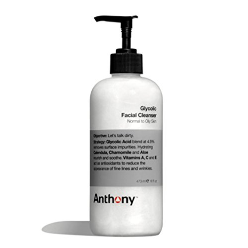 Anthony Glycolic Facial Cleanser, 16 oz