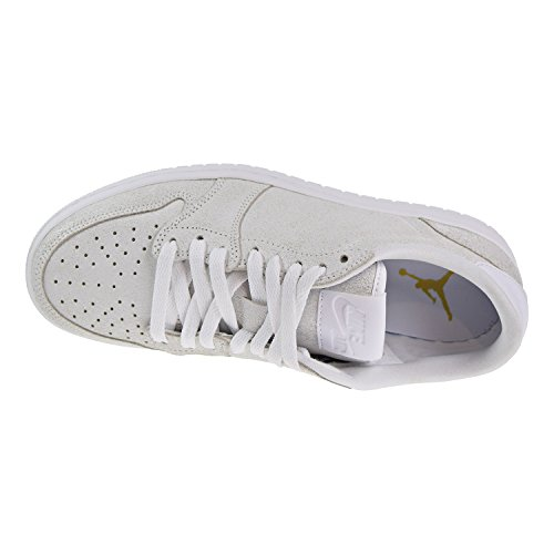 Mehrfarbig White 1 100 Air Gold Jordan Ns Low Retro Wmns Fitnessschuhe Damen Metallic afzzqw48