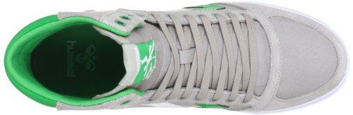 hummel HUMMEL SLIMMER STADIL HIGH 63-111-2985 - Zapatillas de deporte de lona unisex Gris (Grau (DOVE/FERN GREEN/WHITE 2985))