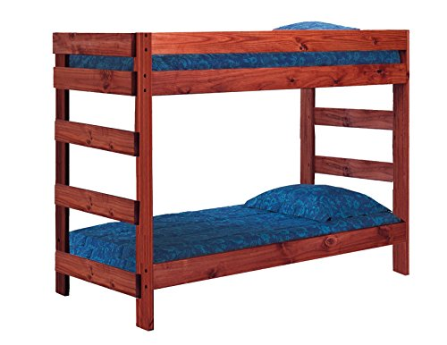 (Jericho Solid Pine Twin Over Twin Bunk Bed (Unfinished))