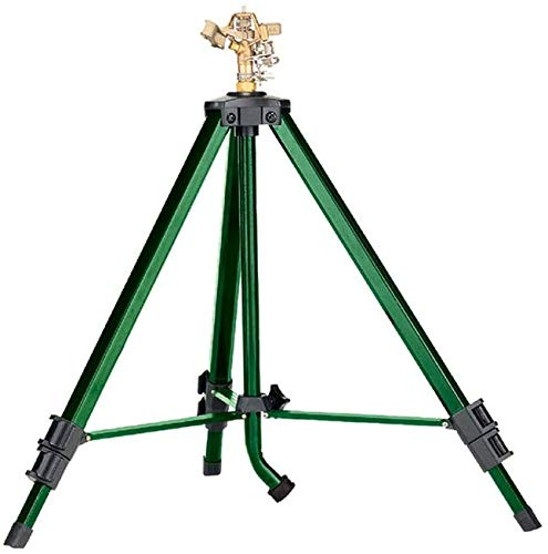 Orbit Brass Impact Tripod Sprinkler 58308D - The Best Tripod Sprinkler