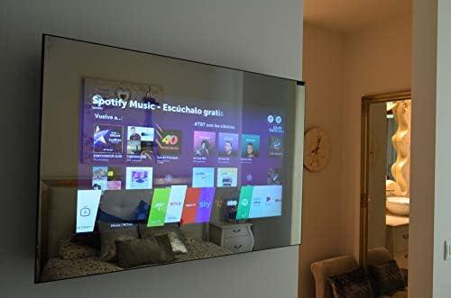 Espejo Multimedia con SmartTV Oculta trás el Cristal (450 X 700, TV24): Amazon.es: Electrónica