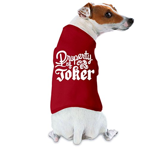 Customized Girl Joker's Lil Buddy: Doggie Skins Dog Tank Top -
