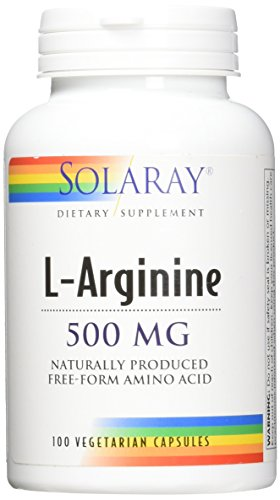 Solaray Free-Form L-Arginine, 500 mg, 100 Count