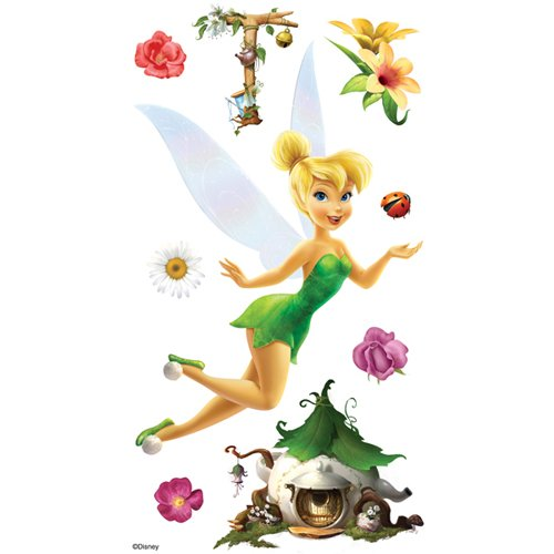 Disney Adhesive Buttons - Sticko & Jolee's Disney Le Grande Dimensional Sticker: Tinker Bell