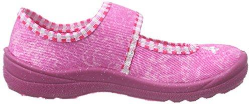 Lico Mädchen Sweet Girl Pantoffeln Pink (PINK/ROSA/WEISS)