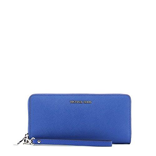 ffedd019edf6 Michael Kors Jet Set Travel Continental Wallet Wristlet - Electric Blue by Michael  Michael Kors (