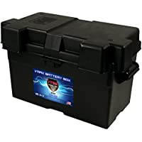 VMAX VBB-24-31 Group 24 27 31 Adjustable Commercial Grade Battery Box compatible with Automotive, Marine and RV Batteries MADE IN USA Outer Dimensions:17-3/4