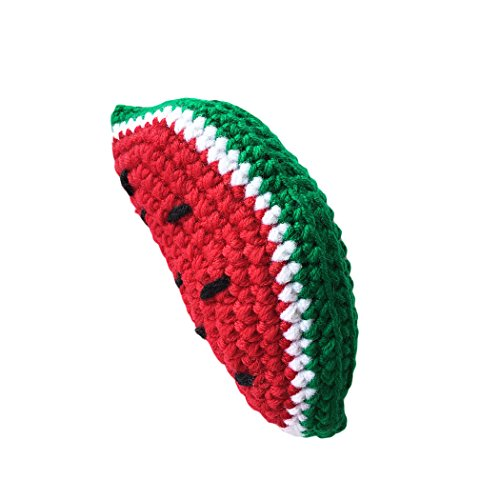 [Raylans Baby Kids Child Cute Crochet Knit Fruit Vegetable Toy Photo Photography Props,Watermelon] (Watermelon Toddler Costume)
