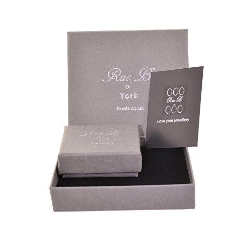 Superbe Argent sterling, Doré et or rose cristal Toggle Bracelet (B146)