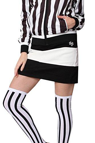 欺く拍車後ろ、背後、背面(部ゴルフウェア レディース スカート ボーダー切替スカート スポーツウェア レディース ゴルフウェア ブルークラッシュ BLUE CRUSH
