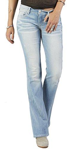 (True Religion Women's Joey Flare Super T Jean Sunrise Surf)