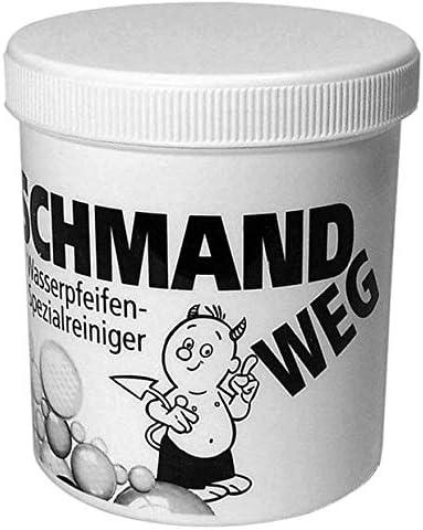 Schmand weg - Limpiador especial para shishas, pipas de agua, bongs, biodegradable, 150 g