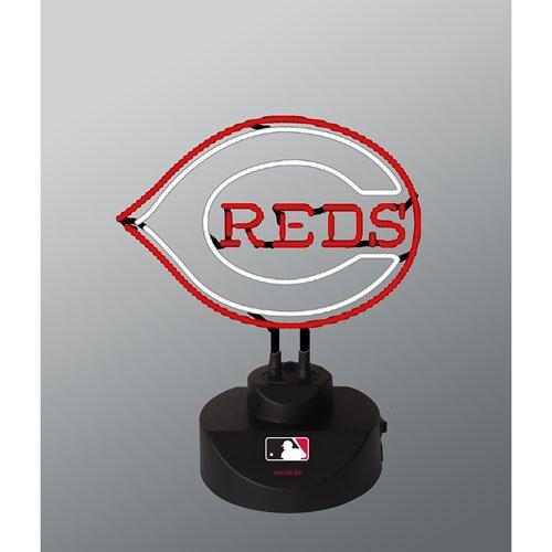 Memory Company MLB Cincinnati Reds Neon Lamp, One Size, Multicolor