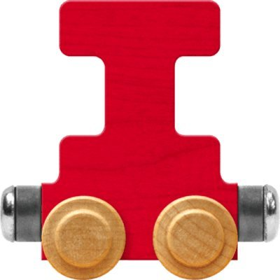 - NameTrain Bright Letter Car I - Made in USA (Red)