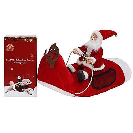 Amazon.com: Royal Wise - Disfraz navideño de Santa para ...