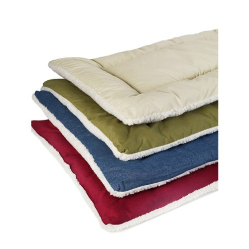 Pet Dreams Dog Crate Bed -The Original Crate Pad Kennel Mat – Quality Bedding Since 1999, 2 in 1 Reversible for Summer and Winter. 100 Washable- Guaranteed