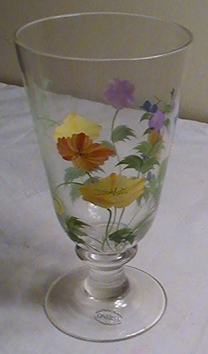 Hand Painted Water Goblet - 8