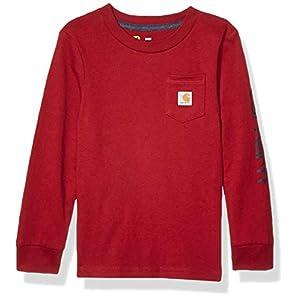 Best Epic Trends 41x-ScjJlcL._SS300_ Carhartt Baby Boys Long Sleeve Pocket Tee T-Shirt
