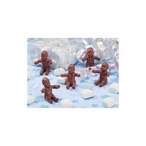 Darice Bulk Buy DIY Baby Shower Accents Mini Plastic Babies African American 12 Pieces (6-Pack) 1639-85 (Darice Baby)